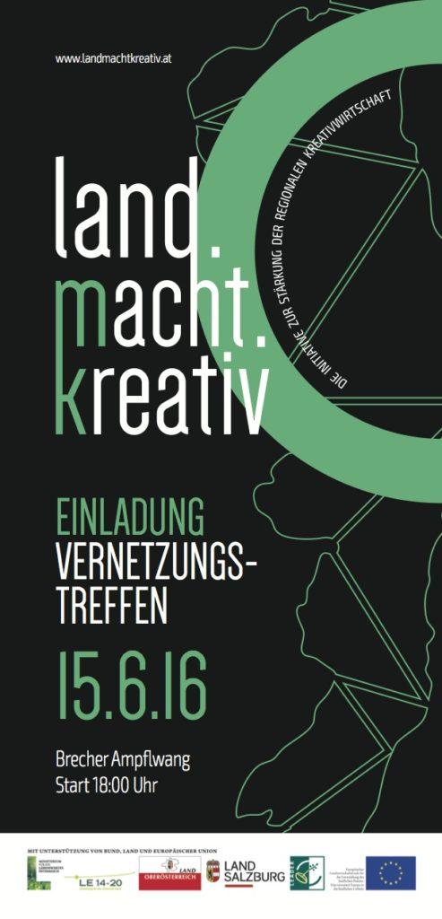 Infoflyer DIN_lang land.macht.kreativ Brecher Ampflwang_Print