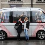 Premiere: selbstfahrender Minibus in Salzburg – LEADER Region FUMO als Projektpartner dabei