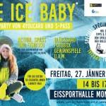 ICE, ICE, BABY! Jugendkarten aus Salzburg und Oberösterreich gehen am 27. Jänner 2017 in der Eissporthalle Mondsee gemeinsam aufs Eis.
