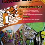Graffiti Workshop für Kinder und Jugendliche mit Max Wesenauer