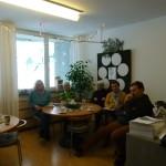 Gesprächrunde mit Senioren