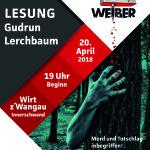 Projekt Mordsweiber – nächste Krimilesung am 20. April 2018