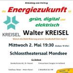 Walter KREISEL am 02. Mai im Schloss Mondsee