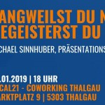 Präsentationsexperte im Local21 – Coworking in Thalgau