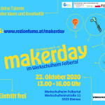 Anfassen erlaubt – 2. FUMO makerday geht am 23. Oktober 2020 über die Bühne