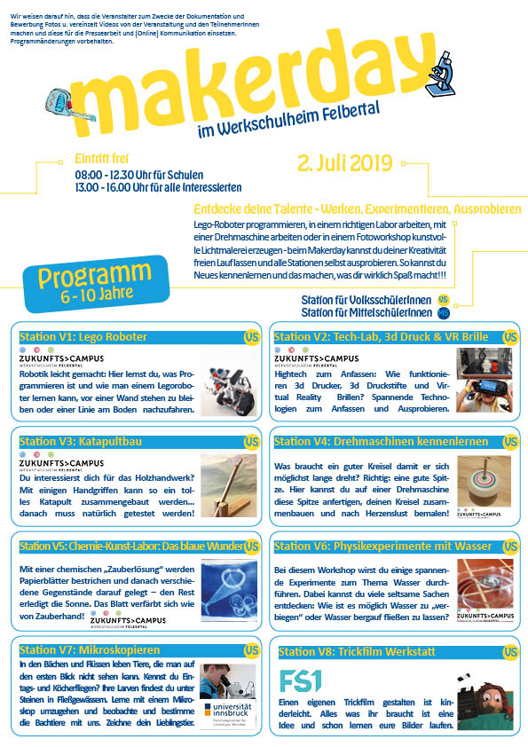 Programm Makerday
