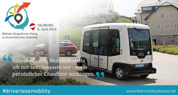 Veranstaltung Automatisierte Mobilität