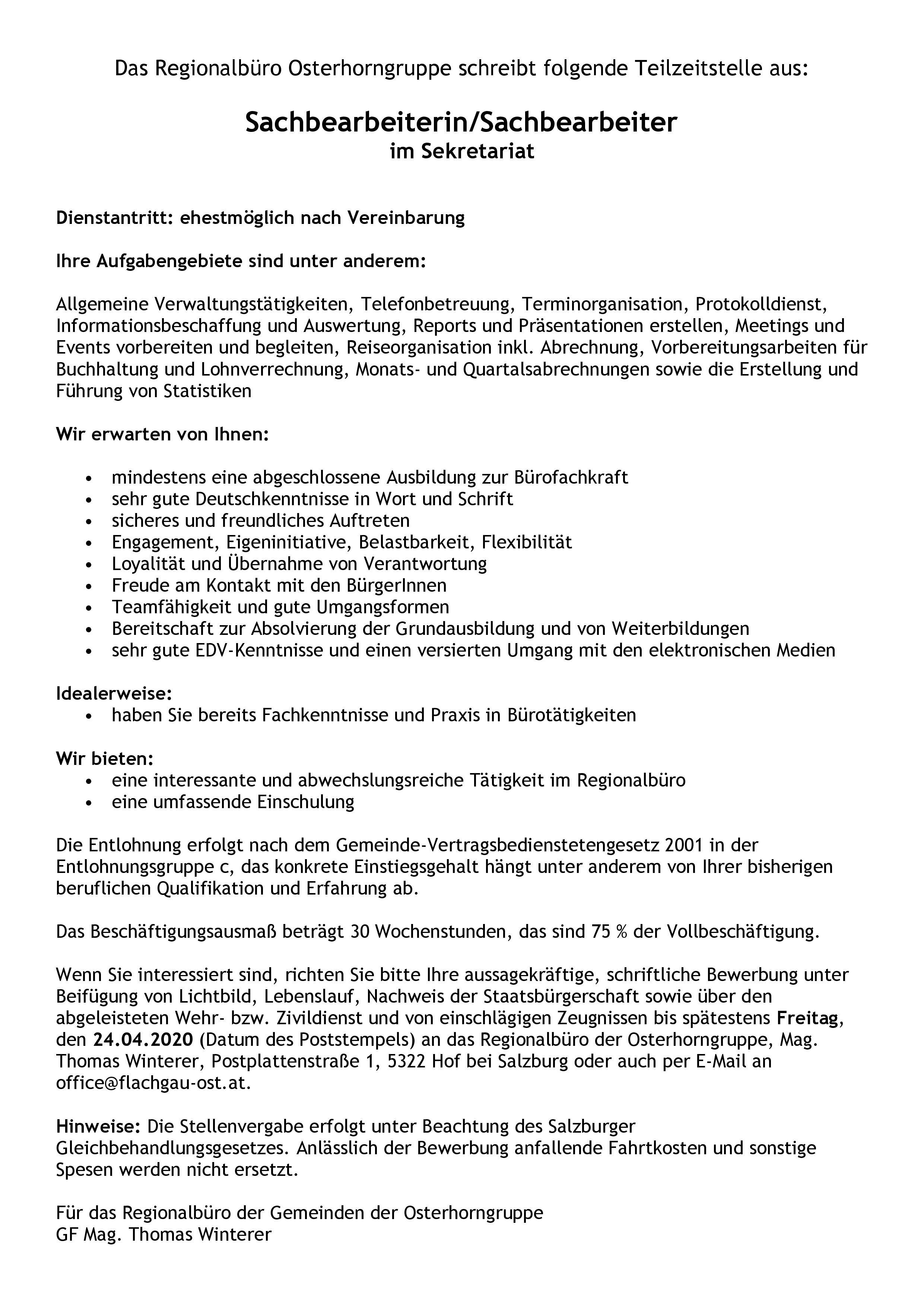 Stellenausschreibung Mitarbeiter Regionalbüro-page-001