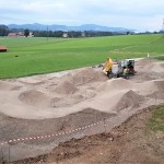 Baustart des Pumptracks in Koppl