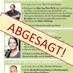 """""""KlimaWeitblick"""" – renommierte Klimavorträge in Thalgau"""