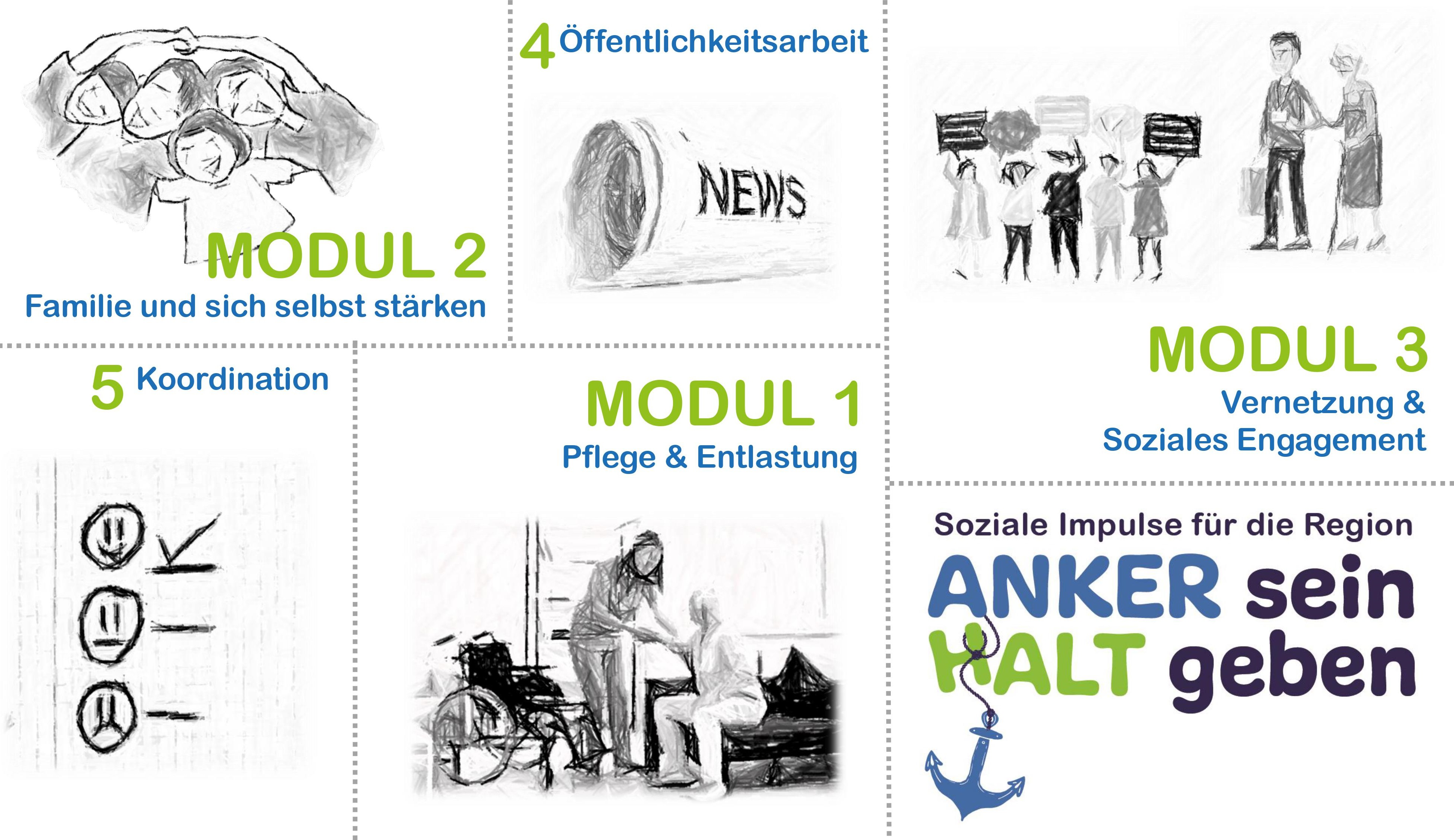 Illustration Sozial.Impulse Newsletter_neu